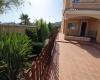 Jardin lateral vivienda en Torreguil